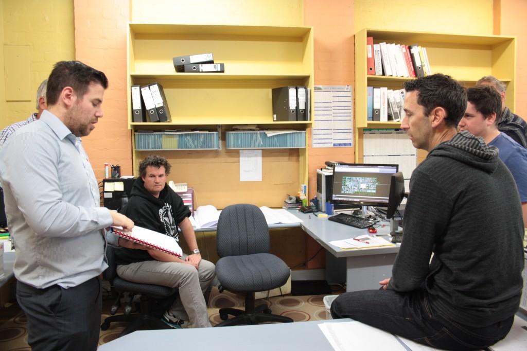 Design consultation with EDGE team