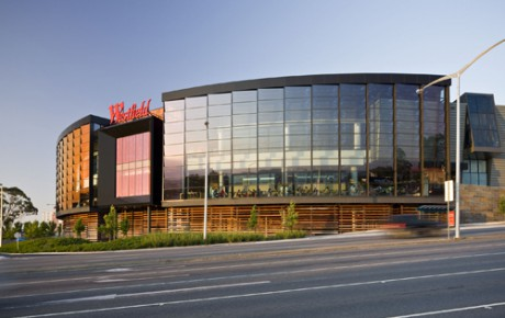 EDGE Architectural Systems used in the Westfield Doncaster redevelopment project.