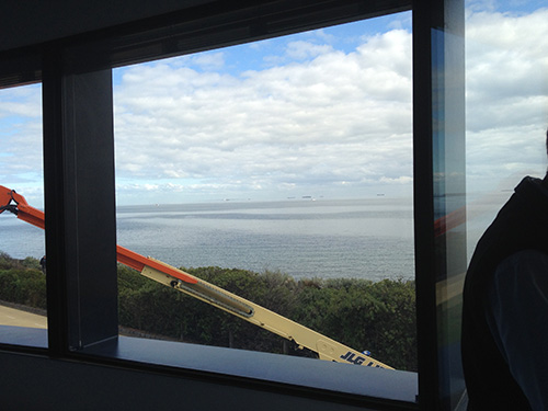 an image of a U-MAX thermally broken window installed in a home in the Melbourne area