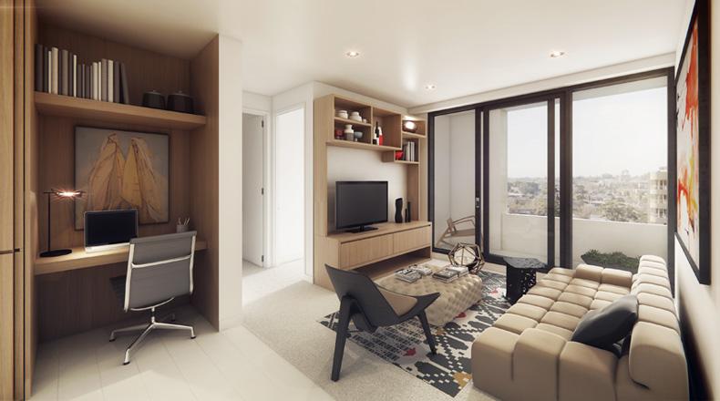 EDGE Architectural Lucia Apartments