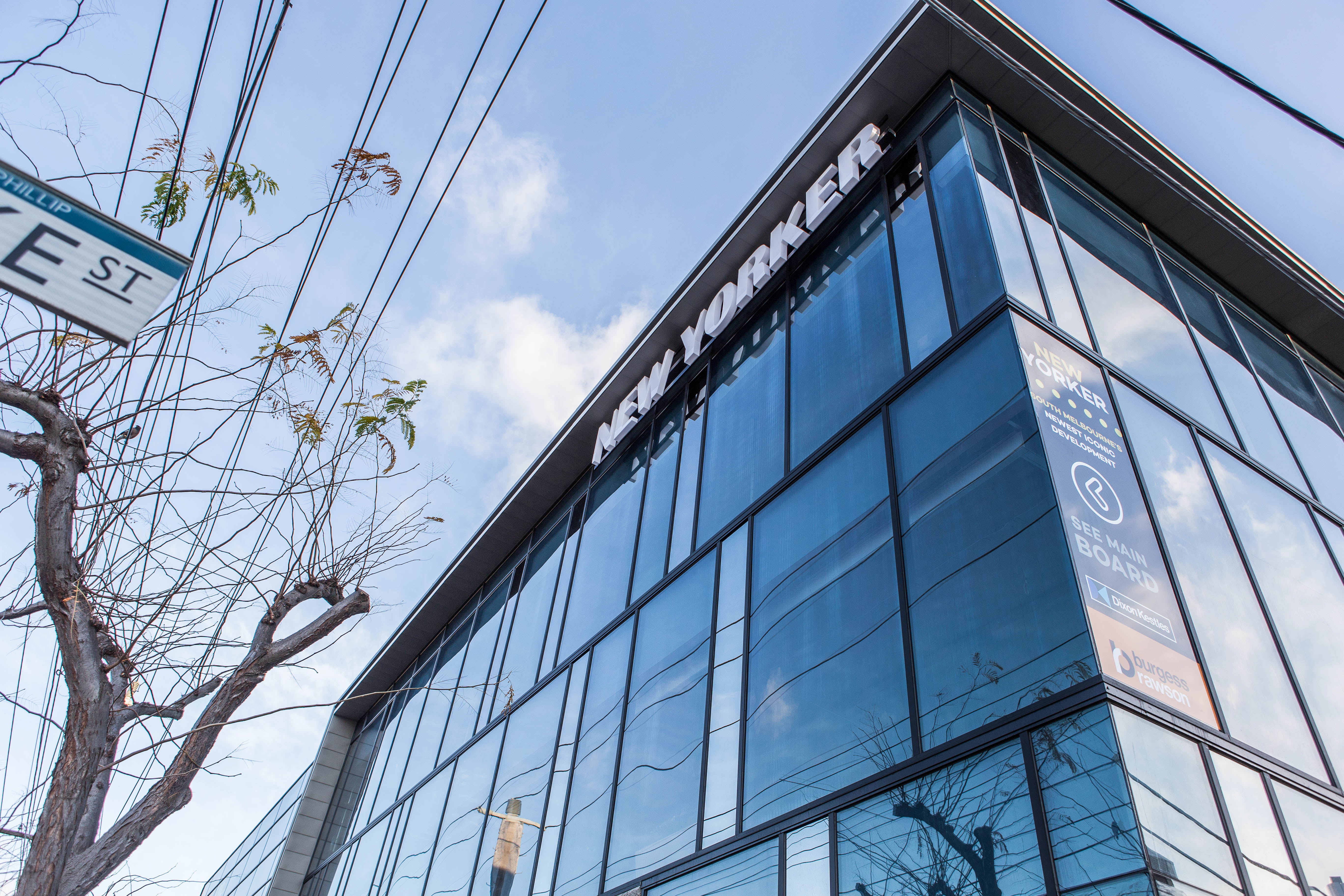Architectural Glazing Systems : A new yorker in south melbourne edge architectural