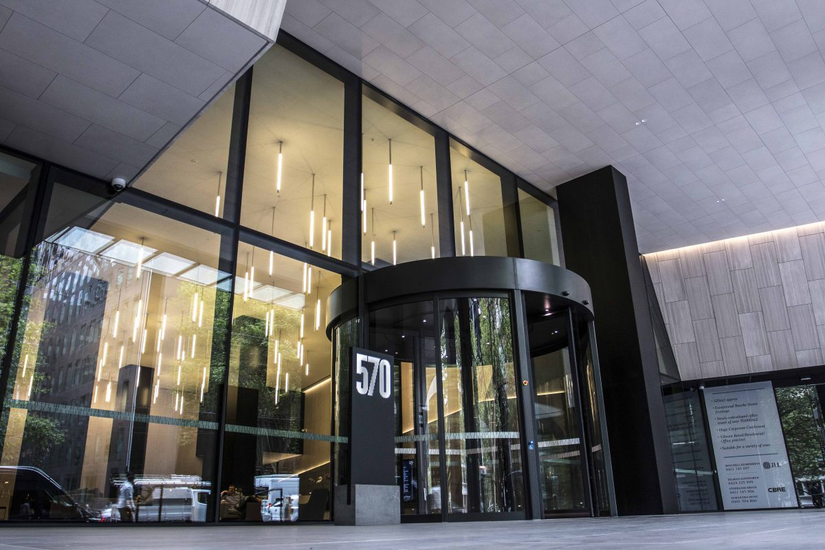 570 Bourke Street Melbourne Edge Architectural Glazing