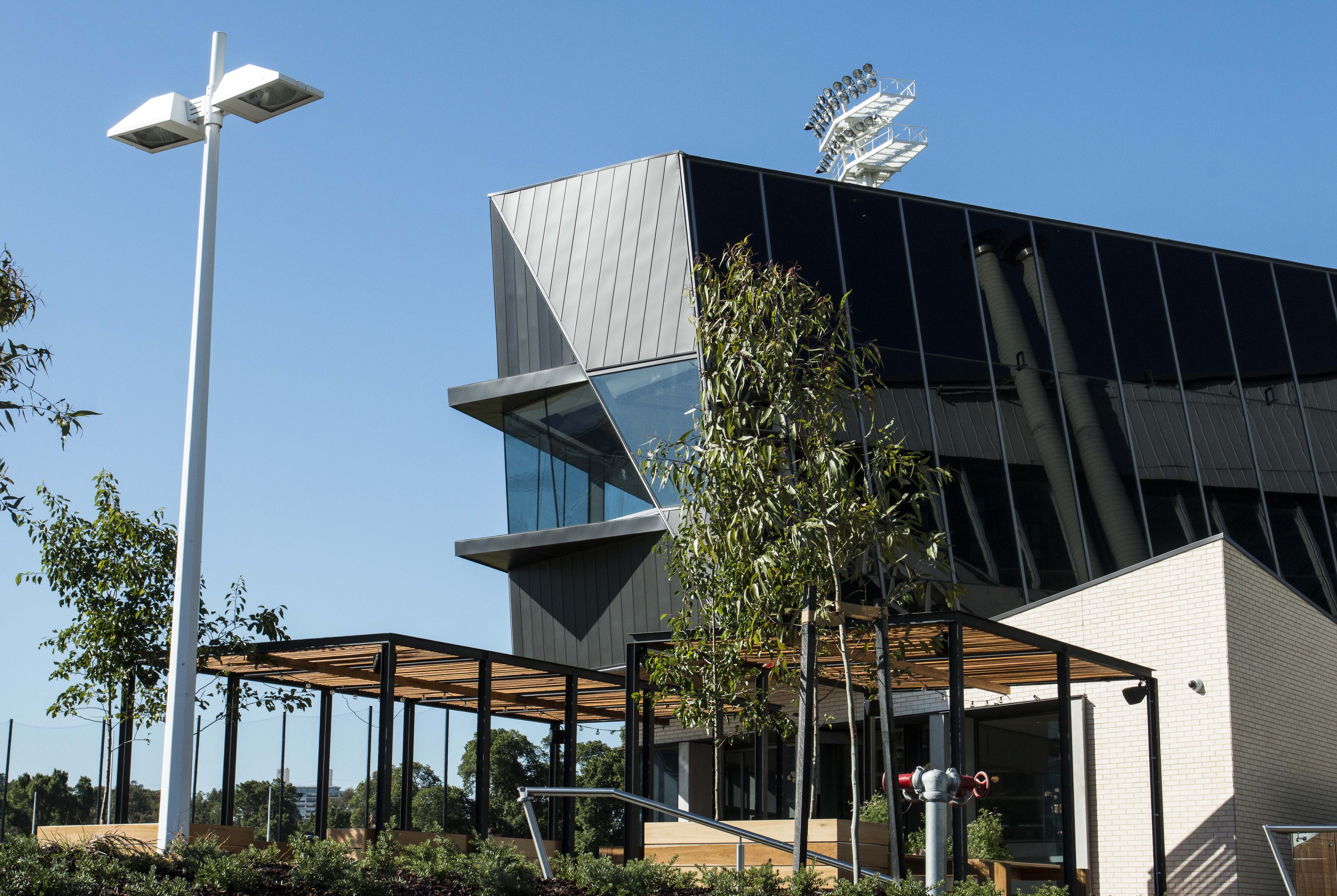 Architectural Glazing Systems : The glasshouse and collingwood community centre at olympic
