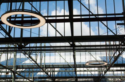nternal balustrade channels and external ventilation louvres