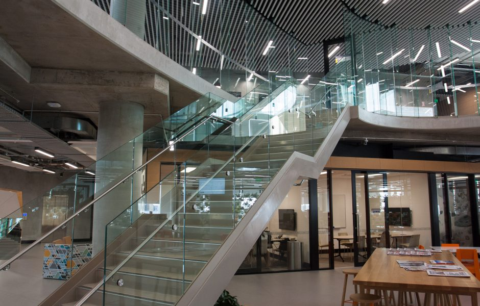 Architectural Glazing Systems : Flinders university tonsley edge architectural glazing