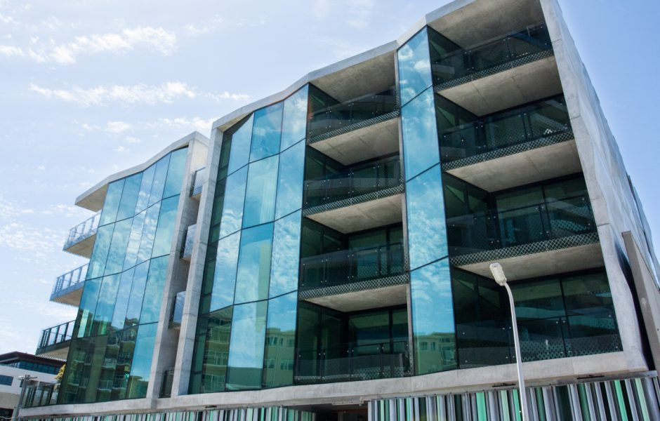 Architectural Glazing Systems : Mint apartments edge architectural glazing systems