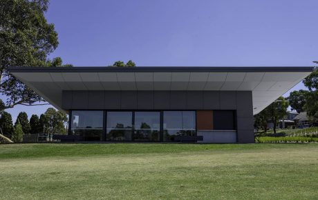 Markham Reserve Sports Pavilion MAX front double glazed windows front