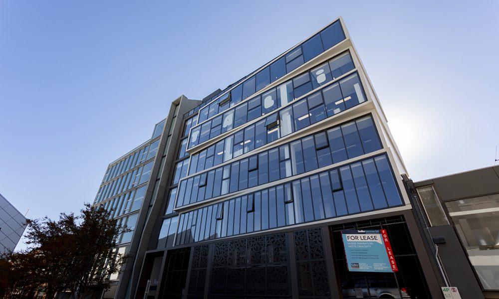 structural glazed facade