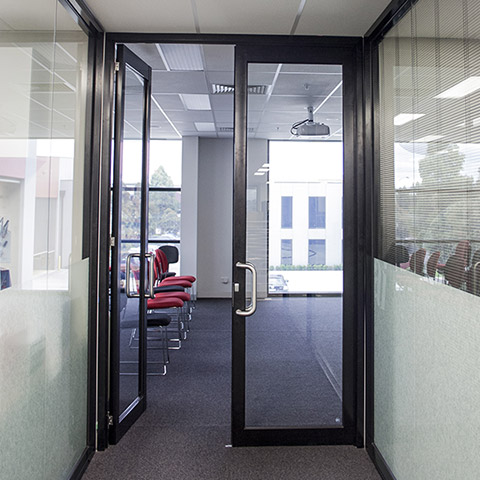 architectural beaded commercial doors