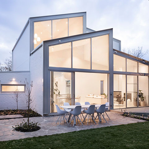home architectural glazing system