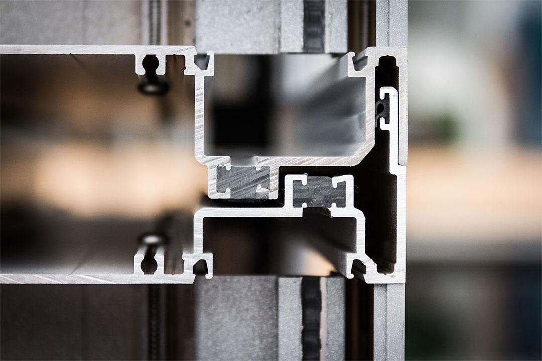 thermally broken aluminium extrusion