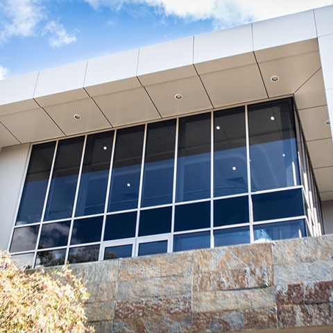 medical centre architectural window system