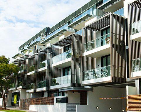 apartment architectural windows