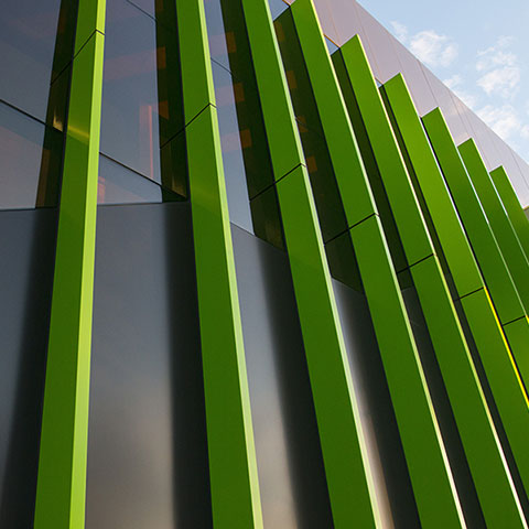 medical clinic architectural window systems