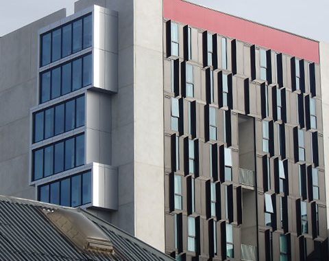 student accommodation architectural window system
