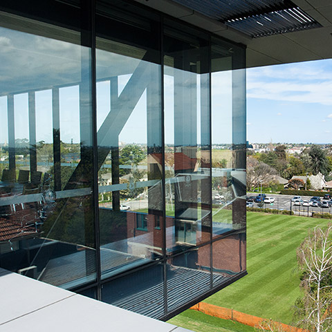 double glazed structural glazed and curtain wall