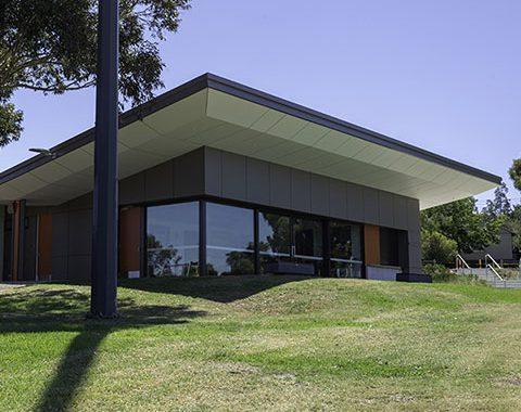 sports reserve architectural glazing system