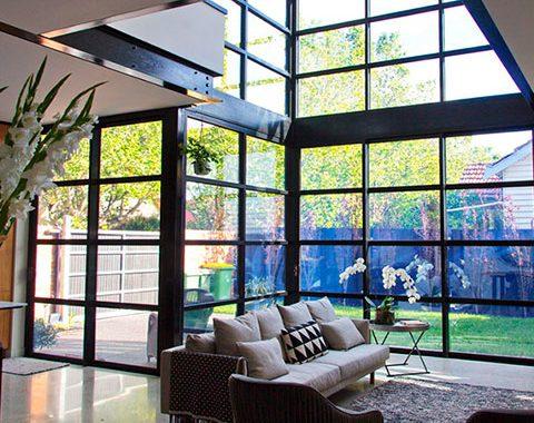 private home architectural windows