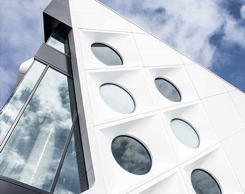 hospital architectural glazing system