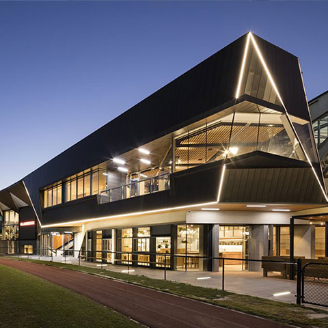 sports stadium architectural glazing systems