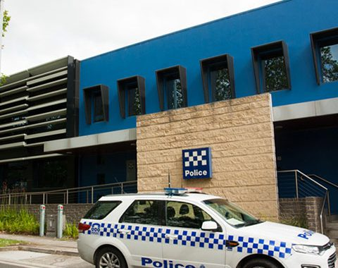 police station architectural glazing systems