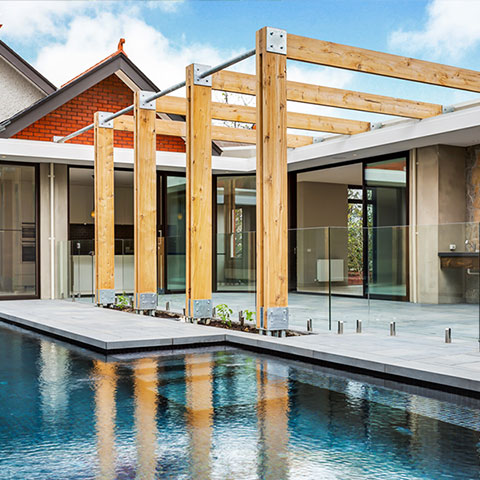 private home architectural glazing system