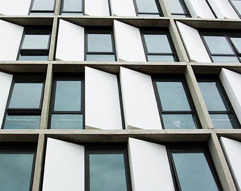 student accommodation architectural glazing system