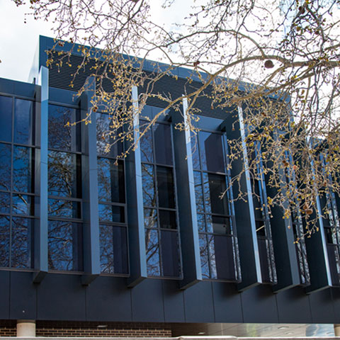 council office architectural glazing system