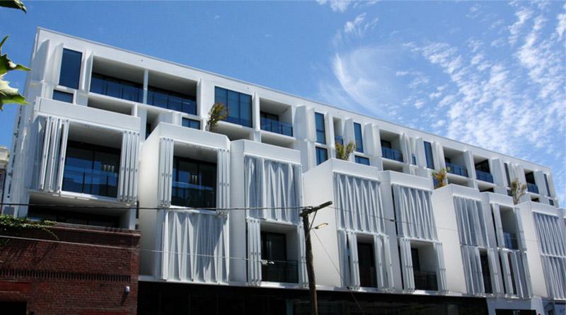 apartment architecturally glazed window system