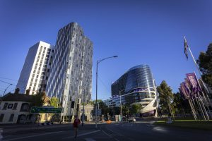 Atira Student Accommodation, North Melbourne featuring MAX™ SG182 Stack Joint