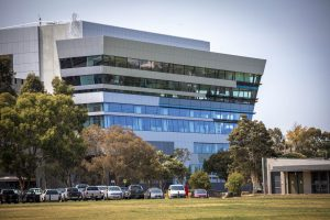 Deakin Sports Science Building EDGE Architectural Glazing Systems MAX SG150 Curtain Wall