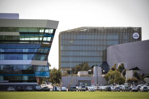 Deakin Sports Science Building EDGE Architectural Glazing Systems MAX SG150 Structural Glazed Curtain Wall