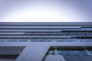 EDGE Architectural curtain wall at Deakin Uni Sports Science Building