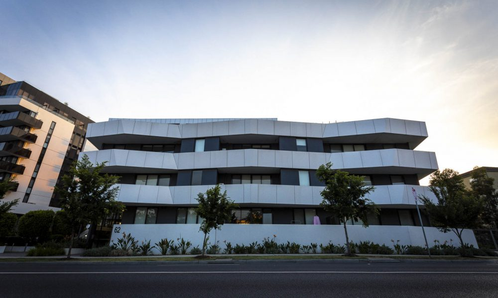 Side of Marque Apartments Maribyrnong
