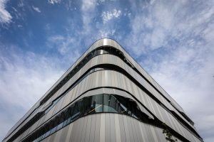 EDGE Architectural's window systems are used in Richmond vertical school