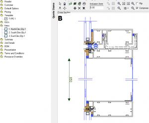 database for fabricators in EDGE V.6.