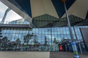 GMHBA Stadium - Brownlow Stand External Glass Facade EDGE Curtain Wall SG182