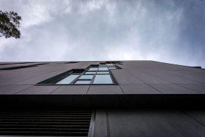 MAX 150 Front Double Glazed Windows at Prahran High School Melbourne's new vertical school