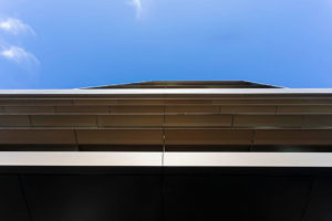 Albert St, Cremorne Raked Curtain Wall and Sun Shelf