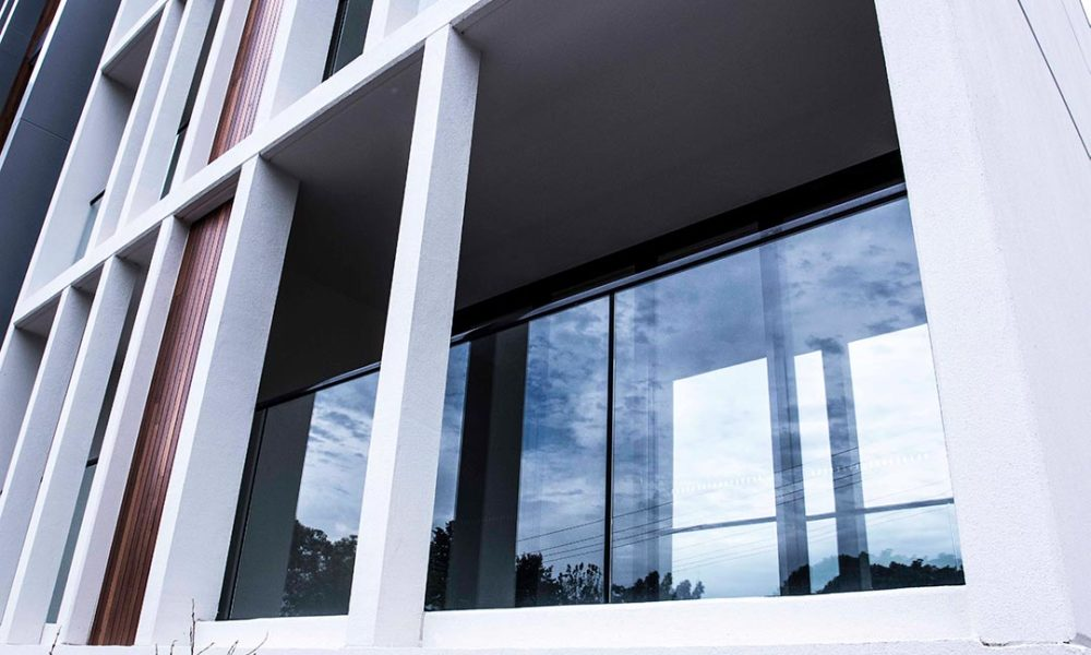 Apartment architectural window system