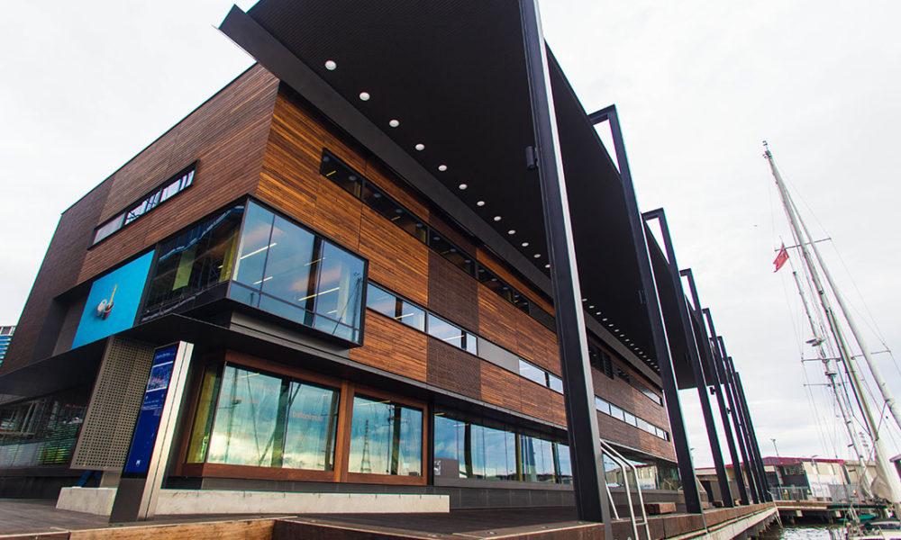 Library at Doclklands - U-MAX 100mm Centre Glazed