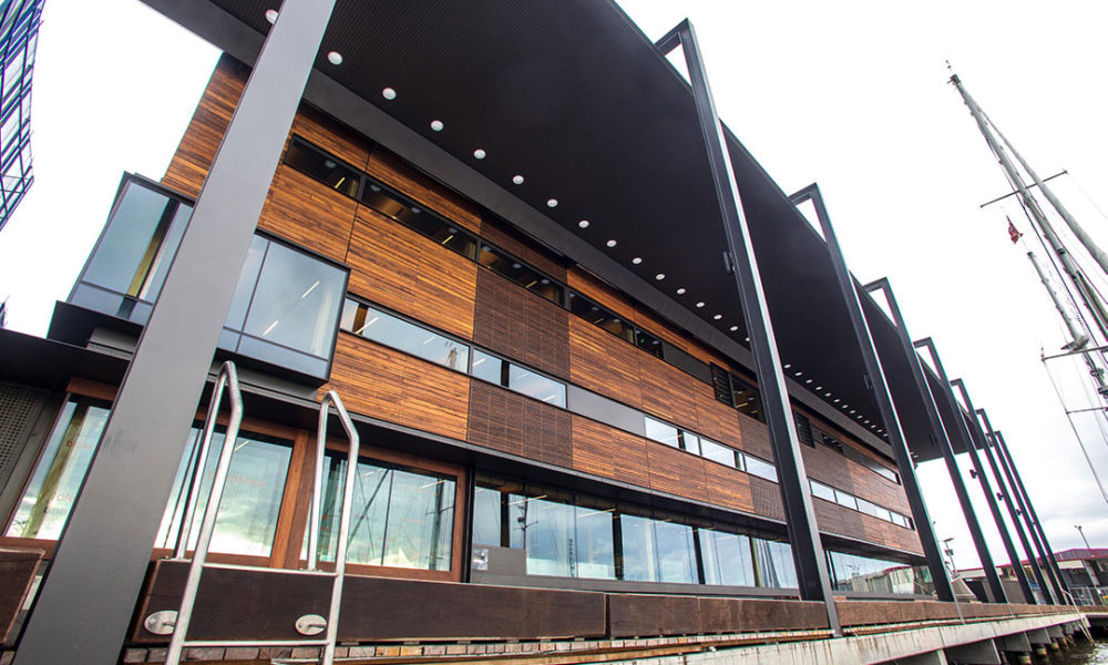 Library at the Docks - EDGE Architectural Glazing Systems