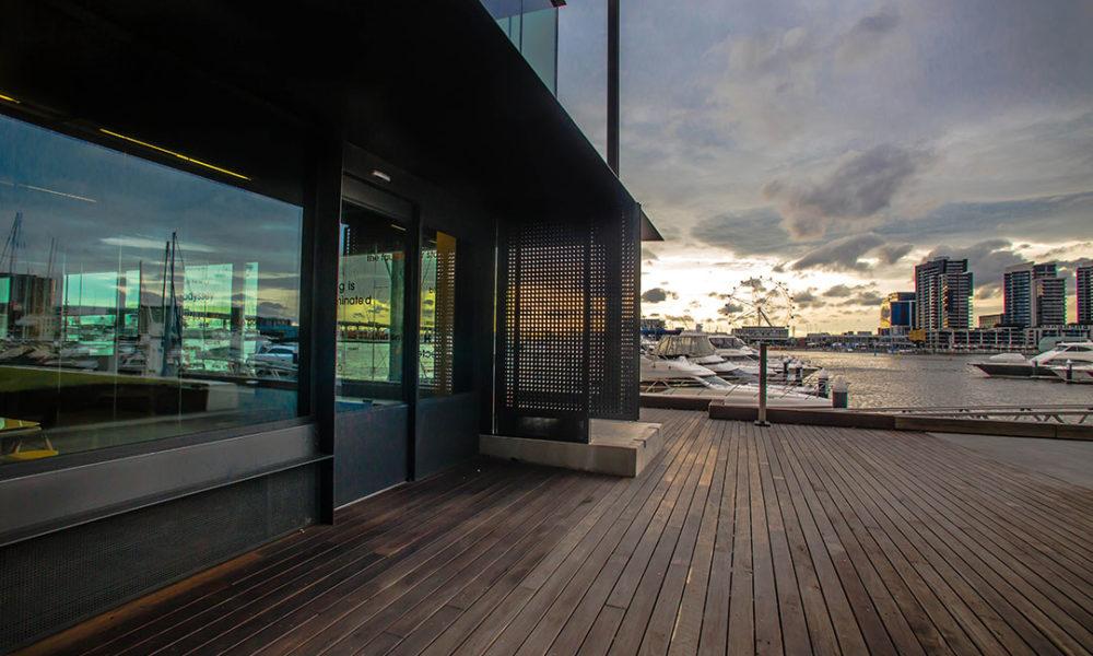 UMAX 100mm Centre Glazed Windows at Docklands Library