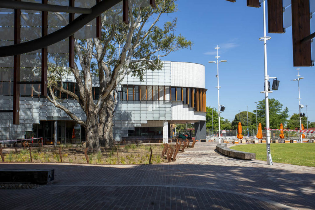Springvale Library and Community Hub - Outside