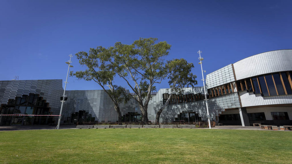 Full view of the new Springvale Library and Community Hub