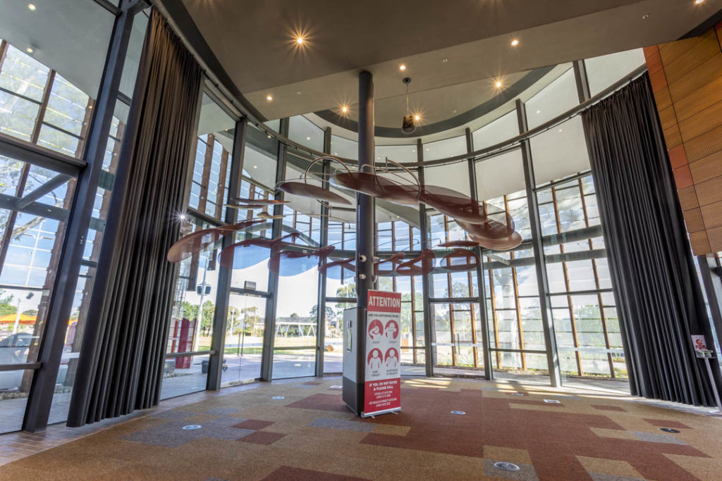 Main foyer of the new Springvale Library
