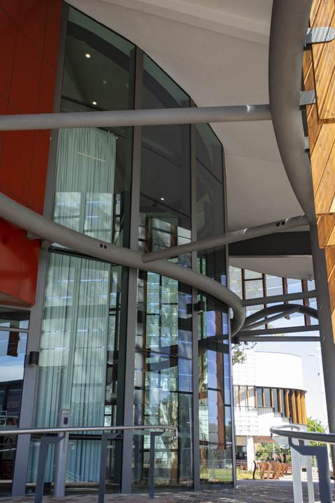 Springvale Community Hub front facade